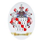 Plumbley Oval Ornament