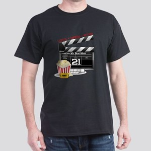 21st Birthday Movie Theme Dark T-Shirt