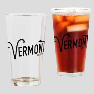Vermont Drinking Glass