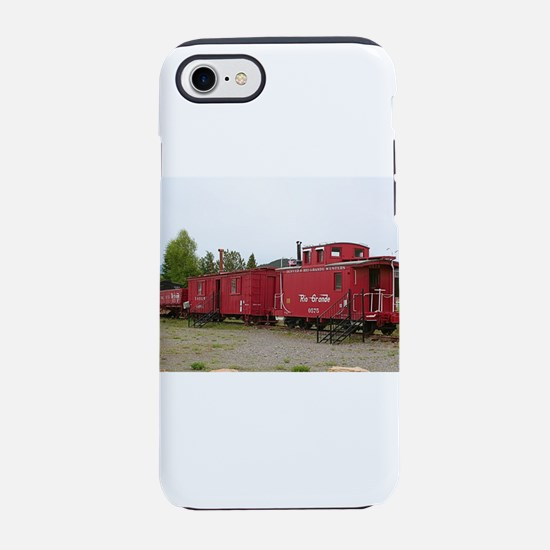 Steam train carriage accommo iPhone 8/7 Tough Case