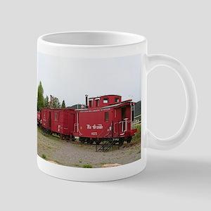 Steam train carriage accommodation, Arizona Mugs