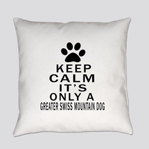 Greater Swiss Mountain Dog Keep Ca Everyday Pillow