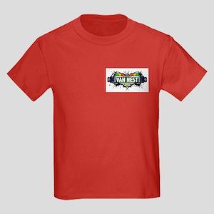 Van Nest (White) Kids Dark T-Shirt