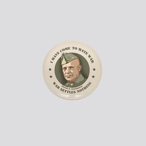 Eisenhower -War Mini Button
