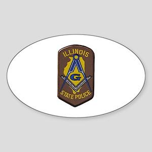 Illinois State Police Freemason Sticker