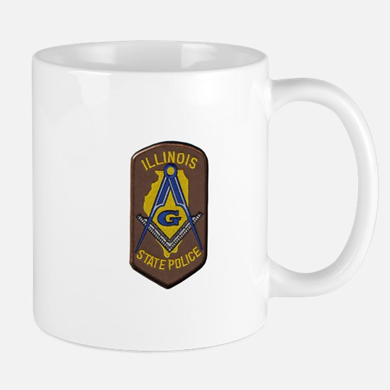 Illinois State Police Freemason Mugs