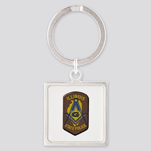 Illinois State Police Freemason Keychains