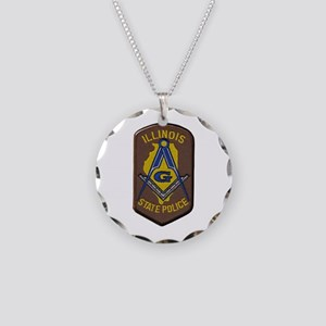 Illinois State Police Freemason Necklace