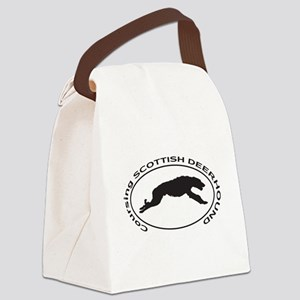 SCOTTISH DEERHOUND Coursing Canvas Lunch Bag