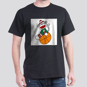 Sock Monkey Basketball T-Shirt