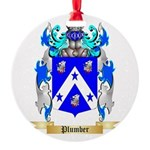 Plumber Round Ornament