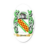 Plumbe Oval Car Magnet