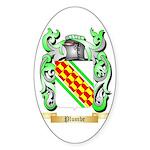 Plumbe Sticker (Oval)