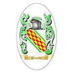 Plumbe Sticker (Oval 50 pk)
