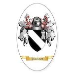 Plucknett Sticker (Oval 50 pk)