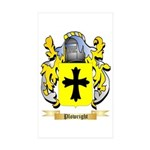 Plowright Sticker (Rectangle 10 pk)