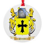 Plowde Round Ornament