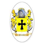 Plowde Sticker (Oval 10 pk)