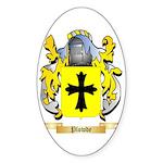 Plowde Sticker (Oval 50 pk)