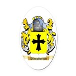 Ploughwright Oval Car Magnet