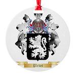 Plews Round Ornament