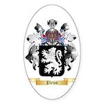 Plews Sticker (Oval)