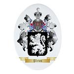Plews Oval Ornament