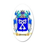 Plessing 35x21 Oval Wall Decal