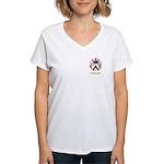 Plaza Women's V-Neck T-Shirt