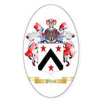Plaza Sticker (Oval 10 pk)
