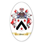Plaza Sticker (Oval 50 pk)