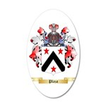 Plaza 20x12 Oval Wall Decal
