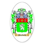 Playforth Sticker (Oval 50 pk)