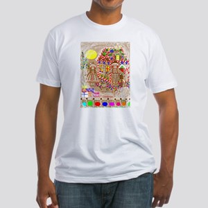 Christmas Fitted T-Shirt