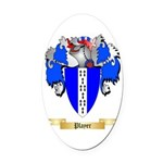 Player Oval Car Magnet
