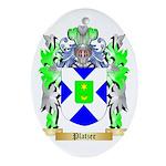 Platzer Oval Ornament