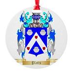 Platts Round Ornament