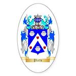 Platts Sticker (Oval 50 pk)