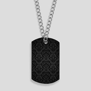 Elegant Black Dog Tags