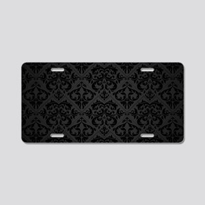 Elegant Black Aluminum License Plate