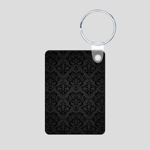 Elegant Black Keychains