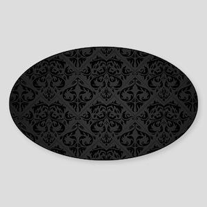 Elegant Black Sticker