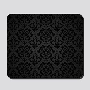 Elegant Black Mousepad