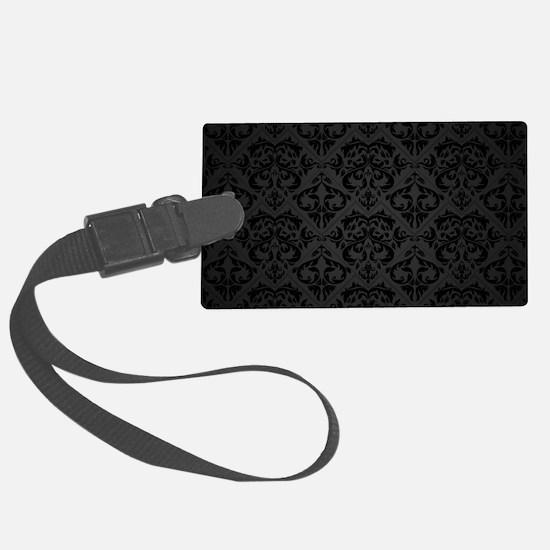 Elegant Black Luggage Tag