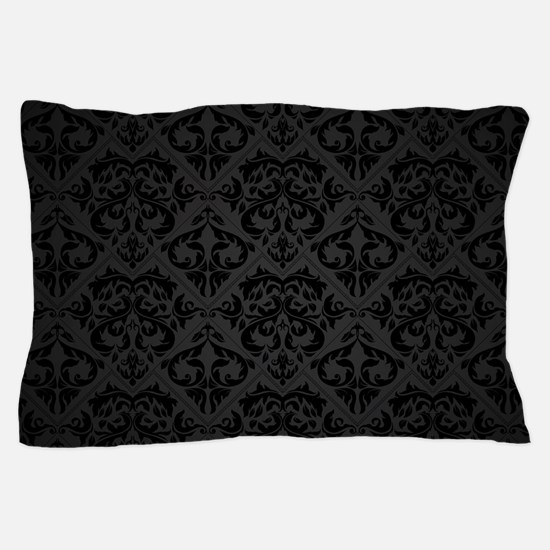 Elegant Black Pillow Case