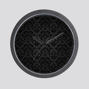 Elegant Black Wall Clock