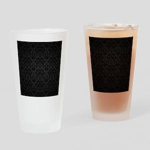 Elegant Black Drinking Glass