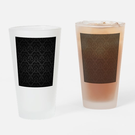 Elegant Black Drinking Glass
