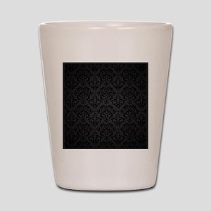 Elegant Black Shot Glass