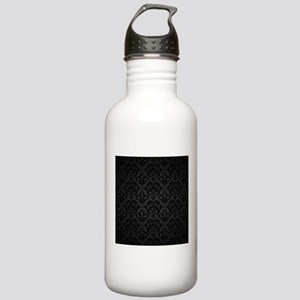 Elegant Black Water Bottle
